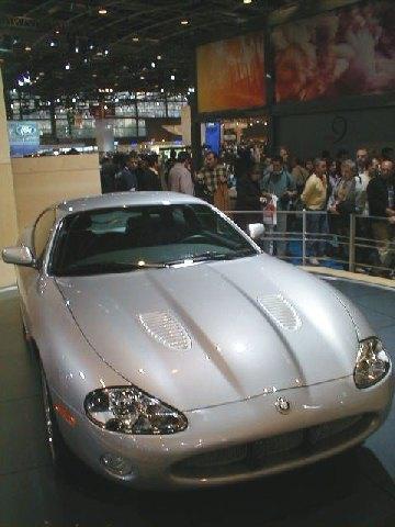 Jaguar XKR Coupé Silverstone 3/4 Avant