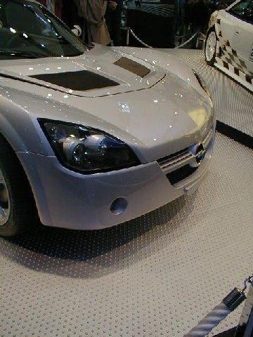 Opel Speedster Détail Avant