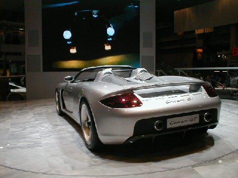 Porsche Carrera GT Concept Car (2000) 3/4 Arrière